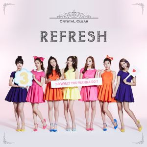 "Album art for CLC's album ""Refresh"""