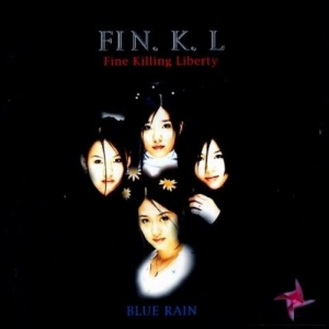 "Album art for Fin.K.L's album ""Blue Rain"""