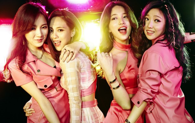 "Miss A ""Colors"" promotional picture."