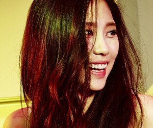 "Miss A Fei ""Colors"" promotional picture."
