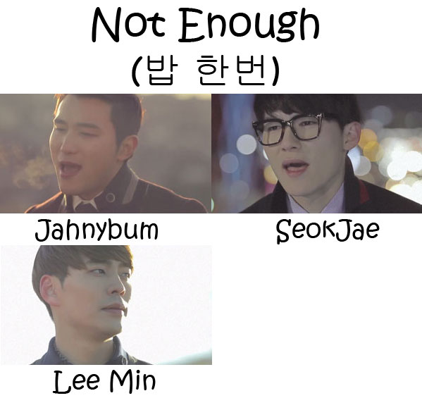 "The members of 6 To 8 in the ""Not Enough"" MV"