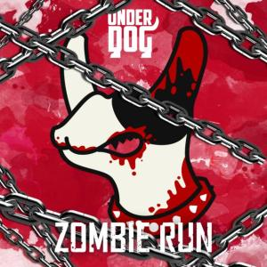 "Album art for Underdog's album ""Zombie Run"""