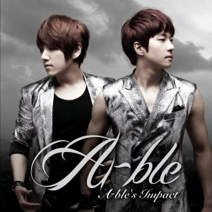 "Album art for Able's album ""Able's Impact"""