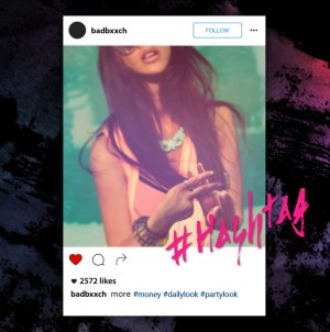 "Album art for BB (Hidden)'s album ""Hashtag"""