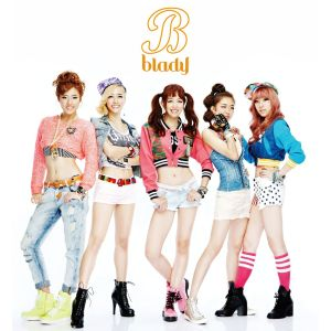 "Album art for Blady's album ""Blood Type B Girl"""