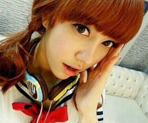 Blady's former member Na Hyun.