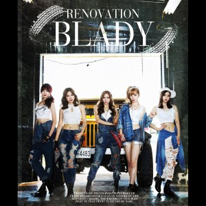 "Album art for Blady's album ""Renovation"""