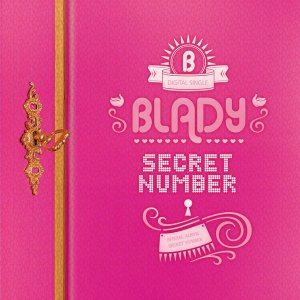 "album art for Blady's album ""Secret Number"""