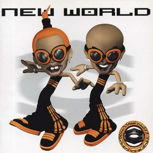 "Album art for Clon's album ""New World"""