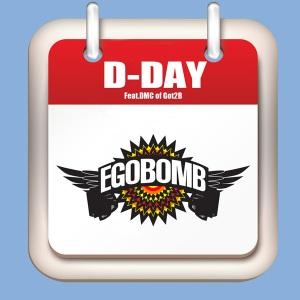 """Album art for Egobomb's album """"D-Day"""""""