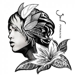 "Album art for Kwanwoo's album ""Sad Romance"""