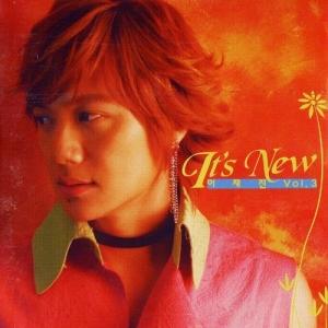 """Album art for Lee Jae Jin's album """"It's New"""""""
