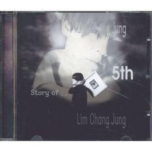 "Album art for Lim Chang Jung's album ""The Story Of"""