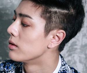 "MR.MR's Sanghyun ""Out"" promotional picture."