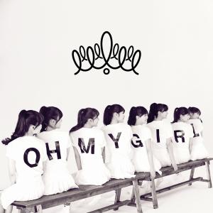 """Album art for Oh My Girl (OMG)'s album """"Oh My Girl"""""""