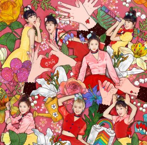 "Album art for Oh My Girl [OMG]'s album ""Coloring Book"""