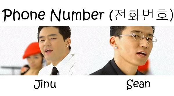 "The members of Jinusean in the ""Phone Number"" MV"