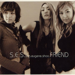 "Album art for S.E.S's album ""Friend"""