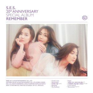 "Album art for S.E.S's album ""Remember"""