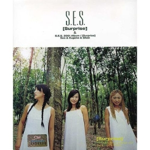 "Album art for S.E.S's album ""Surprise"""
