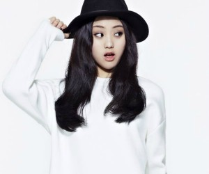 "The Ark's JaeIn ""The Light"" promotional picture."