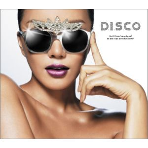 "Album art for Uhm Jung Hwa's album ""D.I.S.C.O"""