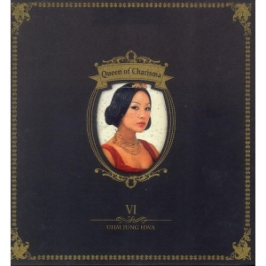 "Album art for Uhm Jung Hwa's album ""Queen Of Charisma"""