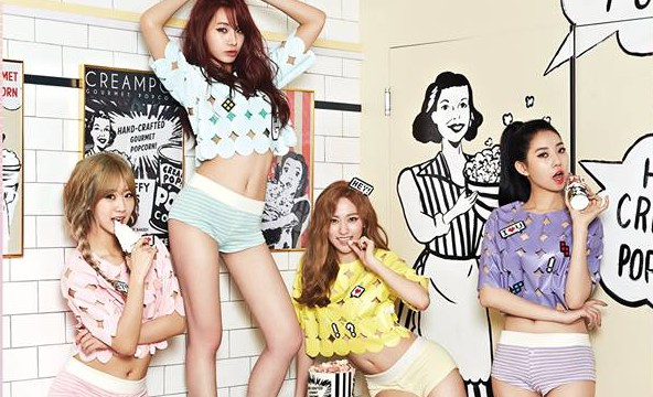 "BESTie's ""Love Emotion"" promotional picture."