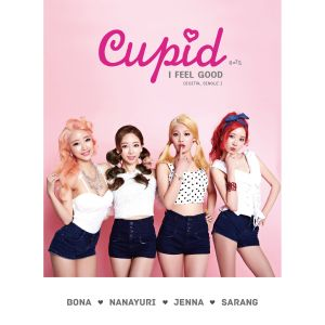 "Album art for Cupid's album ""I Feel Good"""