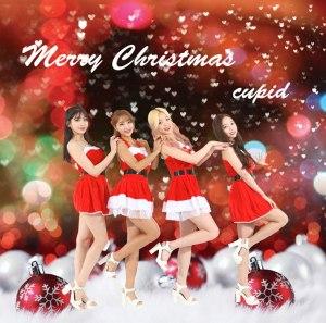 "Album art for Cupid's album ""Merry Christmas"""