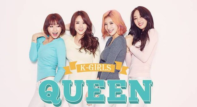 "KGirls' ""Queen"" promotional picture."