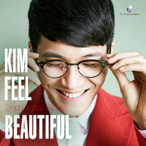 "Album art for Kim Feel's album ""Beautiful"""