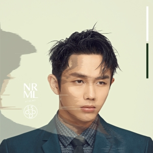 "Album art for Lim Seulong's album ""NRML"""