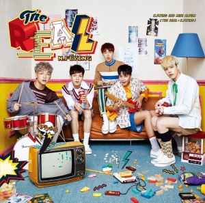 "Album art for N.Flying's album ""The Real"""