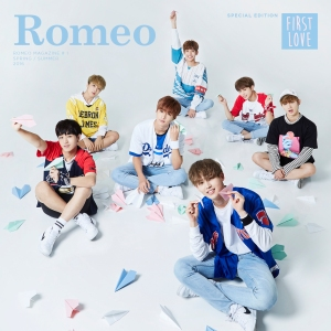"Album art for Romeo's album ""First Love"""