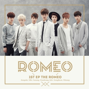 "Album art for Romeo's album ""The Romeo"""
