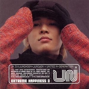 "Album art for UN's album ""Extreme Happiness 3"""