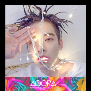 "Album art for AOORA's album ""Moonlight Bloom"""