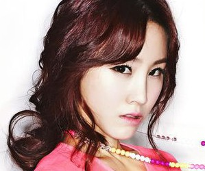 Girl's Day's former member Jihae.
