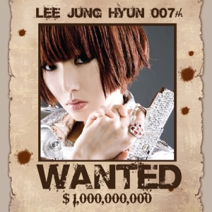 "Album art for Lee Jung Hyun's album ""007th"""
