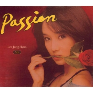 "Album art for Lee Jung Hyun's album ""Passion"""
