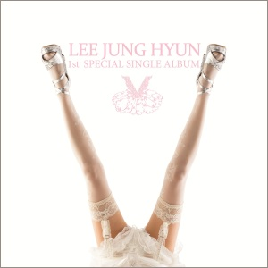 "Album art for Lee Jung Hyun's album ""V"""