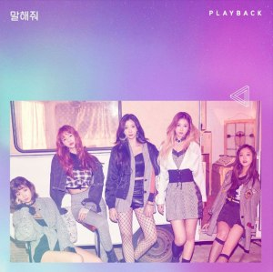 "Album art for Playback's album ""What You Want To Say"""