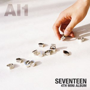 "Album art for Seventeen's album ""Al1"""