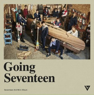 "Album art for Seventeen's album ""Going Seventeen"""
