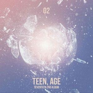 "Album art for Seventeen's album ""Teen,age"""