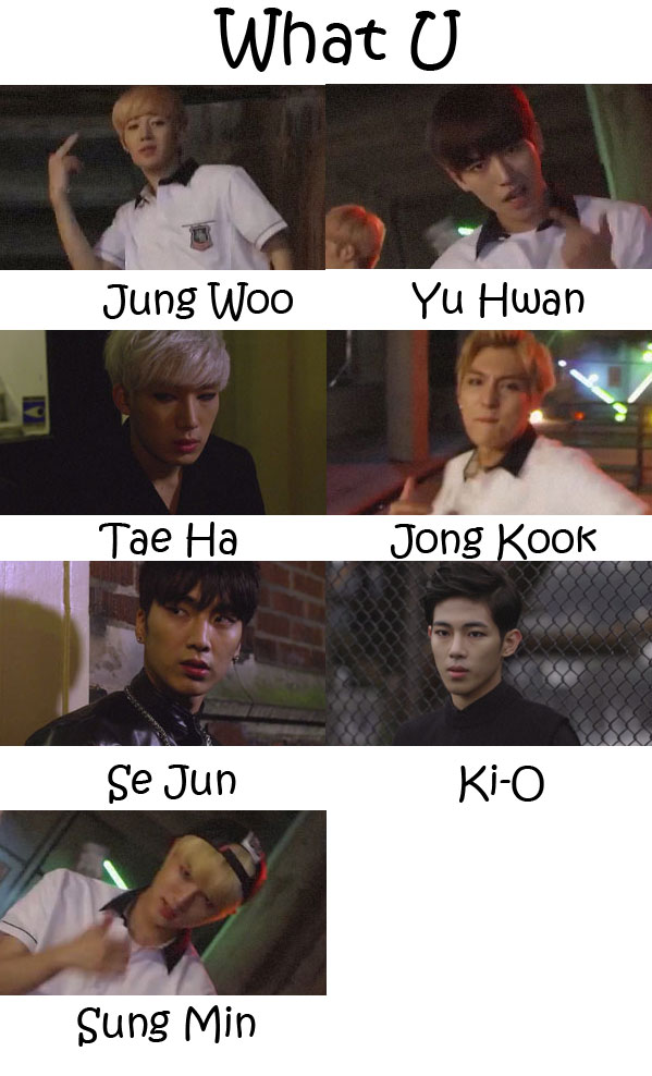 "The members of SPEED in the ""What U"" MV"
