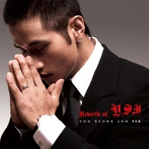 "Album art for Yoo Seung Jun's album ""Rebirth Of YSJ"""