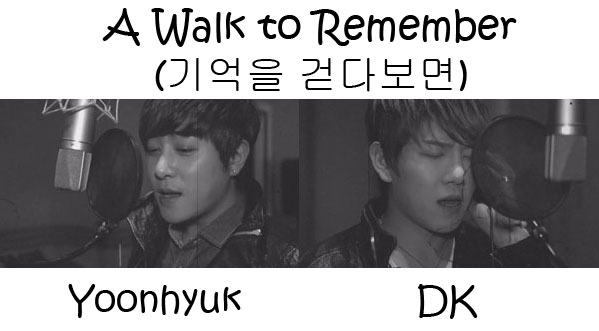 "The members of December in the ""A Walk To Remember"" MV"