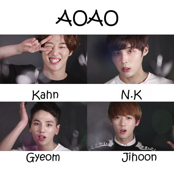 "The membes of ZPZG in the ""AOAO"" MV"